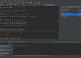PyCharm Community Edition screenshot