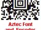 Aztec Font and Encoder Suite