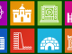 Icons-Land Metro Buildings Icon Set
