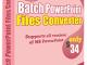 Batch PowerPoint File Converter