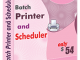 Files Printer and Scheduler